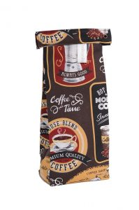 The Coffee Bean Bag, Cafe Au Lait print