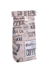 The Coffee Bean Bag, Flat White print