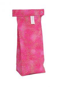 The Bean Bag, Stardust Pink print